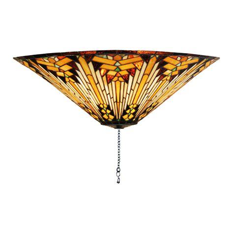 meyda tiffany ceiling fans shop meyda tiffany nuevo mission 3 light mahogany bronze