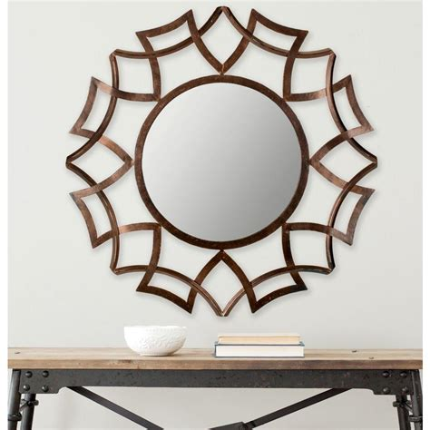 Safavieh Sunburst Mirror by Safavieh Inca Sunburst 35 In X 35 In Iron Framed Mirror