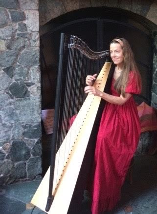 diana stork harp teacher wedding harp   wedding