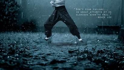 Bruce Lee Inspirational Rain Kung Fu Wallpapers