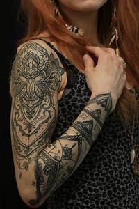Tattoos Frauen Arm : tattoo studio munich henna dot art ornamental maori ~ Frokenaadalensverden.com Haus und Dekorationen