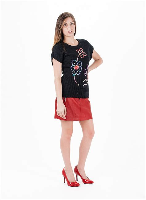 Red Skirt Outfits. Sexy Clubbing Outfits Clubbing Outfit | TopsJeans