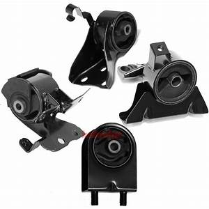 Engine Motor  U0026 Trans Mount Kit Fits Mazda Protege 1 8 2 0