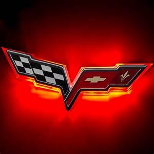 C6 Corvette 2005-2013 LED Front / Rear Emblem Lighting ...