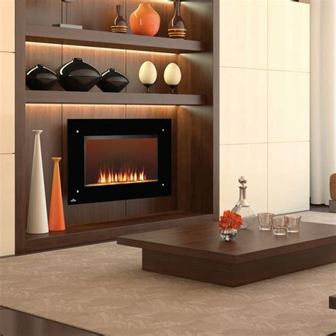 electric fireplace designs   cozy modern interior