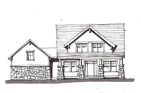 Simple House Sketch Datenlaborinfo