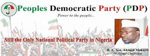Peoples Democratic Party's NEC order Reinstatement of All ...