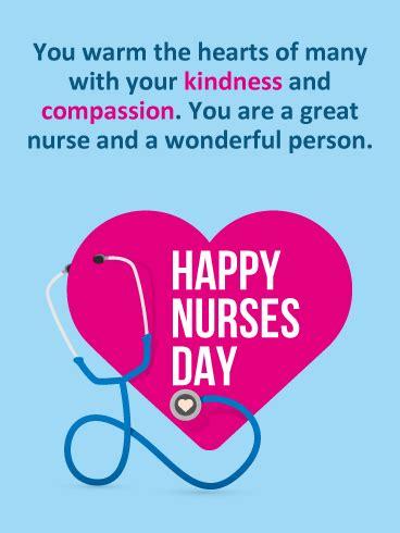 bring smiles happy nurses day card birthday