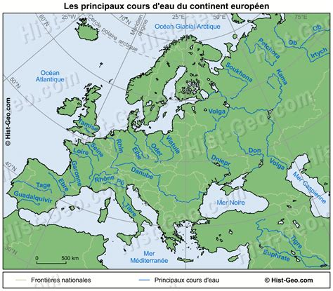 Carte Fleuve De by Le Des Cm1 187 Archive 187 Les Fleuves D Europe