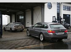 2016 BMW G31 5 Series Touring Spied Breaking Down