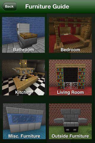 minecraft furniture guide  google search