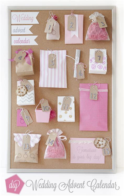kitchen tea ideas how to a wedding advent calendar