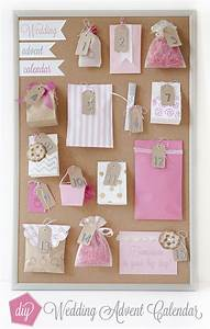 how to make a wedding advent calendar With wedding countdown gifts for bride