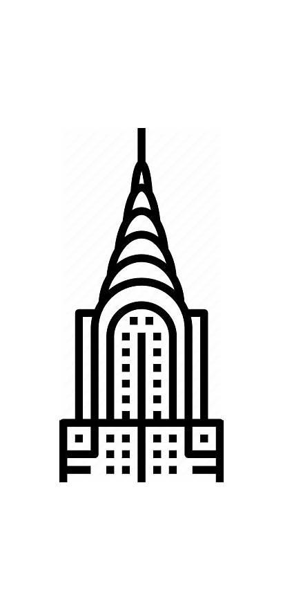 Deco Building Chrysler York Icon Manhattan Capitalism