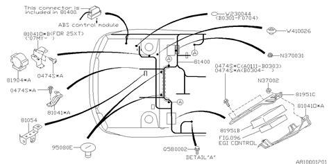 Subaru 360 Wiring Diagram by 81422sa360 Genuine Subaru Harness Bulkhead C0u4