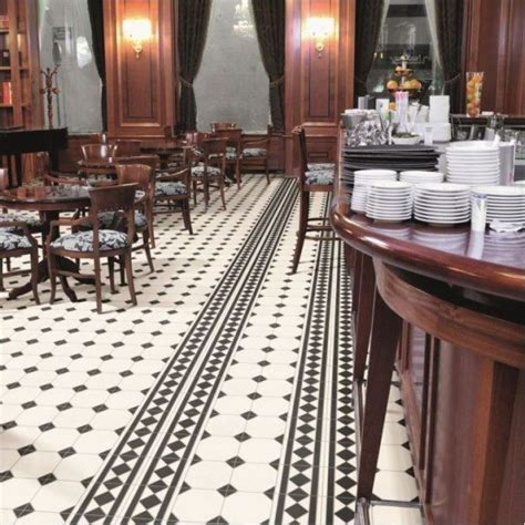 Black and white floor tiles   View trade price Victorian tiles