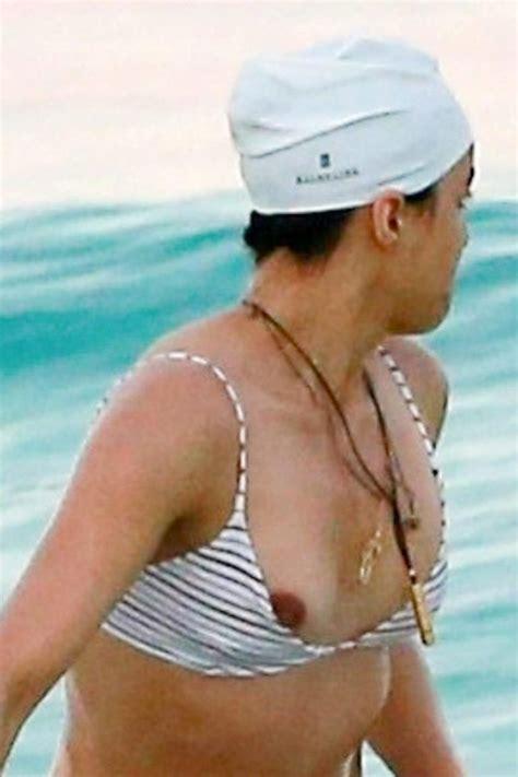 Michelle Rodriguez Nip Slip — Lesbian Actress Is Sexy Scandal Planet