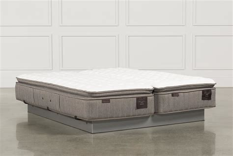 split king mattress scarborough firm pillow top cal king split mattress