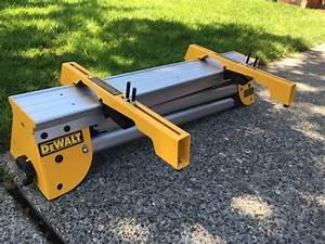 DEWALT DWX725 Heavy Duty Work Stand with DW7231 miter saw