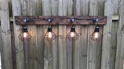 Best 25+ Rustic Vanity Lights Ideas On Pinterest