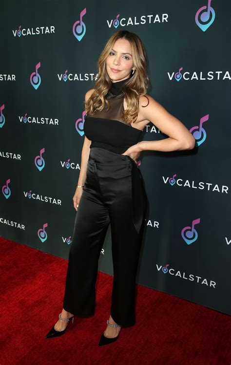 Katharine Mcphee Gorgeous At Annual Vocal Star Seminar Celeblr