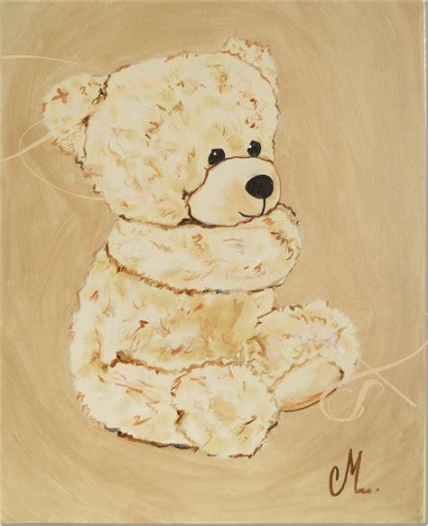 toile chambre bébé fille tableau ours enfant bébé tableau enfant bébé