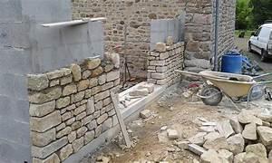 Construction En Pierre : construire un mur en pierre ~ Premium-room.com Idées de Décoration