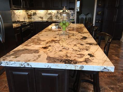 kitchen countertops island blanc du blanc granite kitchen island and backsplash 4321