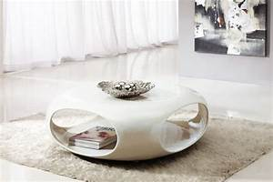Table Basse Blanche Design : table basse ronde moderne table basse table pliante et ~ Preciouscoupons.com Idées de Décoration