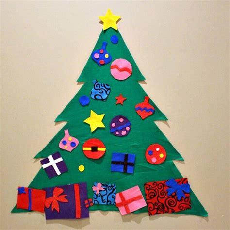 felt christmas tree princess pinky girl