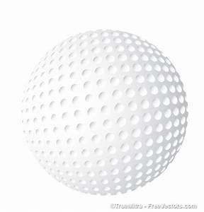 Download Free Golf Ball Vector Vector Illustration