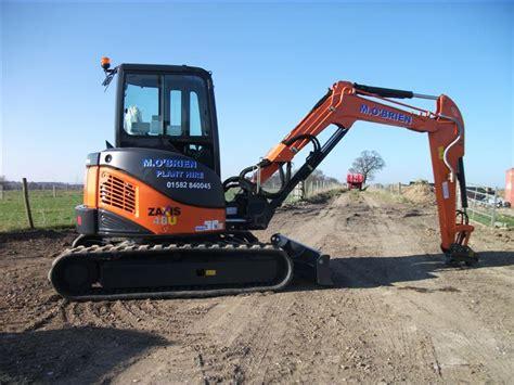 hitachi zxu  tonne zt excavator willow hire