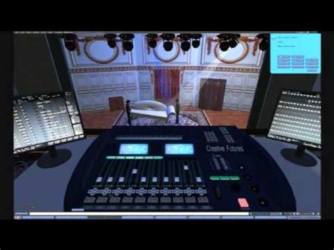 stage lighting simulator free virtual theatre studies in second life youtube