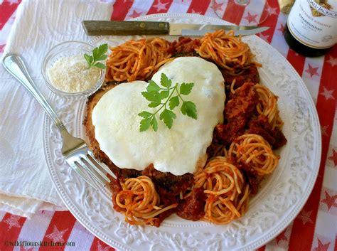 amore chicken parmigiana  secret recipe club