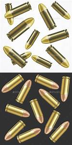 Realistic Bullet Pattern Background by mousemd | GraphicRiver