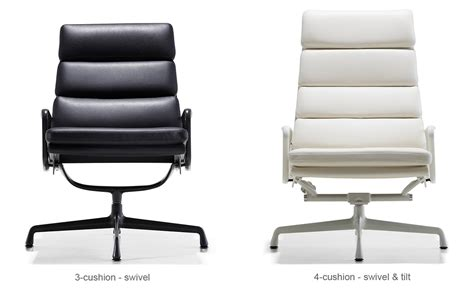 eames 174 soft pad lounge chair hivemodern