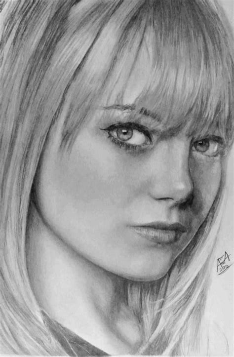 drawing  images  pinterest faces graphite