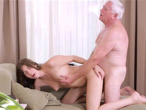 Youthful Doing Strong Grey Haired Cocks