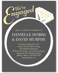 Cocktail Invites 15 Engagement Party Invitations Martha Stewart Weddings