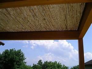 Pergola Avec Canisse : aide pour couvir pergola avec canisse forum jardin assainissement vrd syst me d ~ Melissatoandfro.com Idées de Décoration
