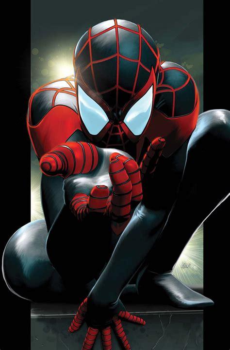 Kryptonian Warrior New Ultimate Spiderman Miles Morales