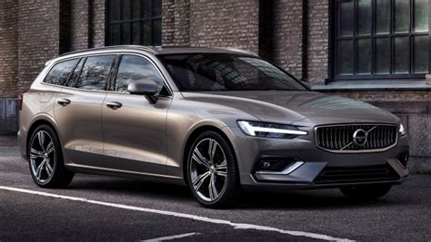 2018 Volvo V60 Unveiled  New T6 Twin Engine Phev