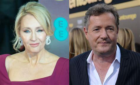 J.k. Rowling Makes Piers Morgan Look Stupid On Twitter