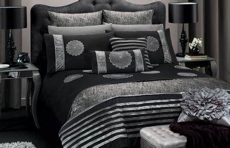 black  silver bedroom ideas  decorating ideas