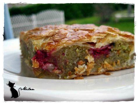 recette galette des rois pistache framboise