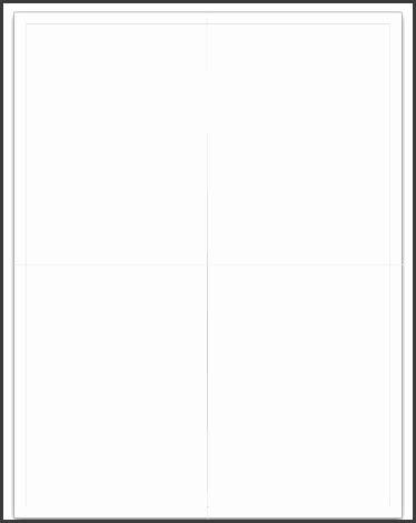 quarter fold card template  word sampletemplatess
