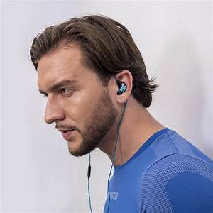 Hybrid Twisted Cable Sports Earphones