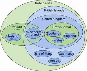 Great Britain Vs United Kingdom Vs England Map