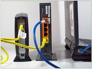 Hook Up Cable Modem And Router