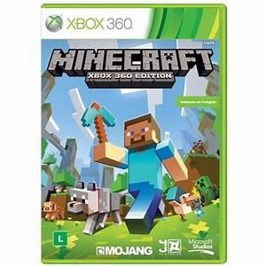 Jogo Minecraft Xbox 360 Jogos Xbox 360 No CasasBahia